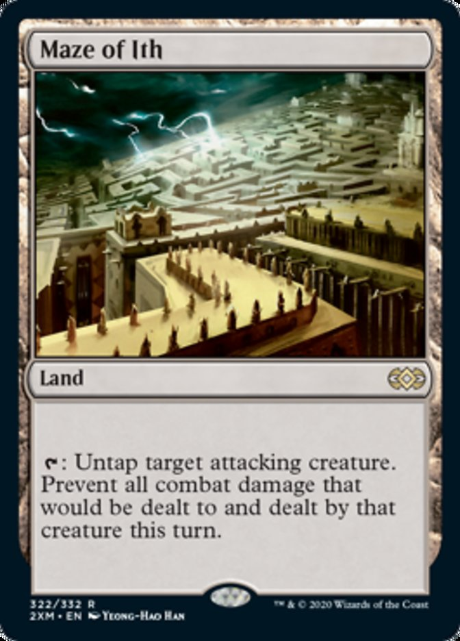 Maze of Ith card from Double Masters