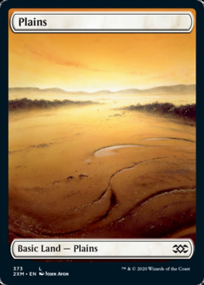 Plains (373) card from Double Masters