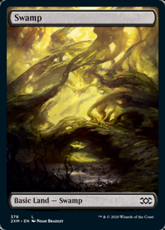 Swamp (378) card from Double Masters