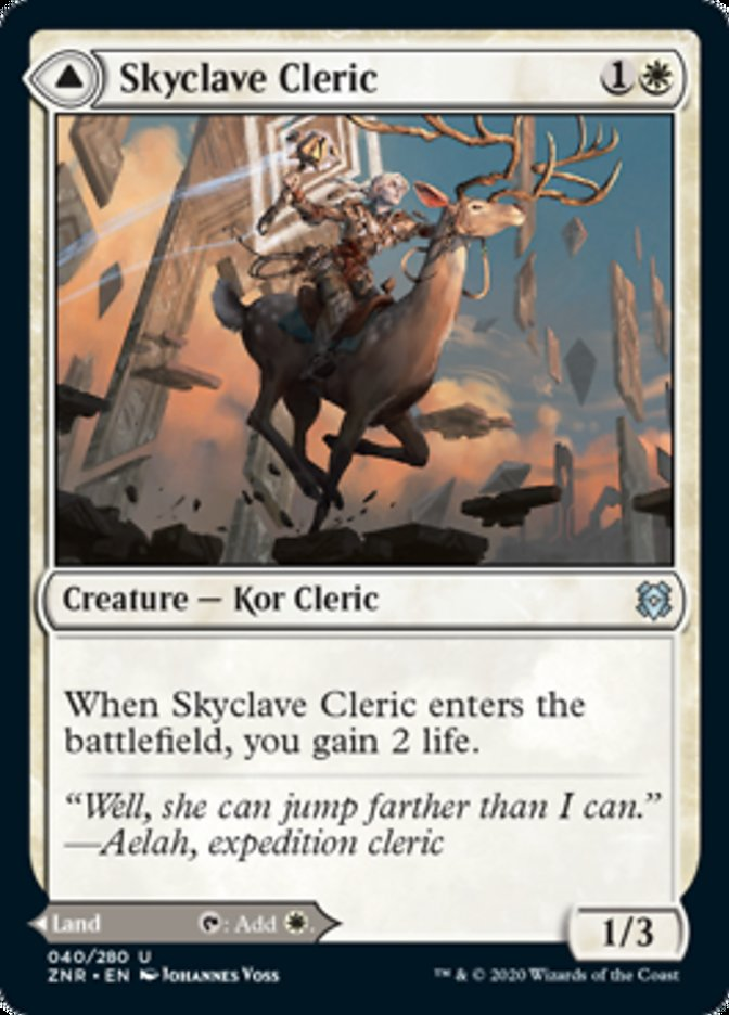 Skyclave Cleric