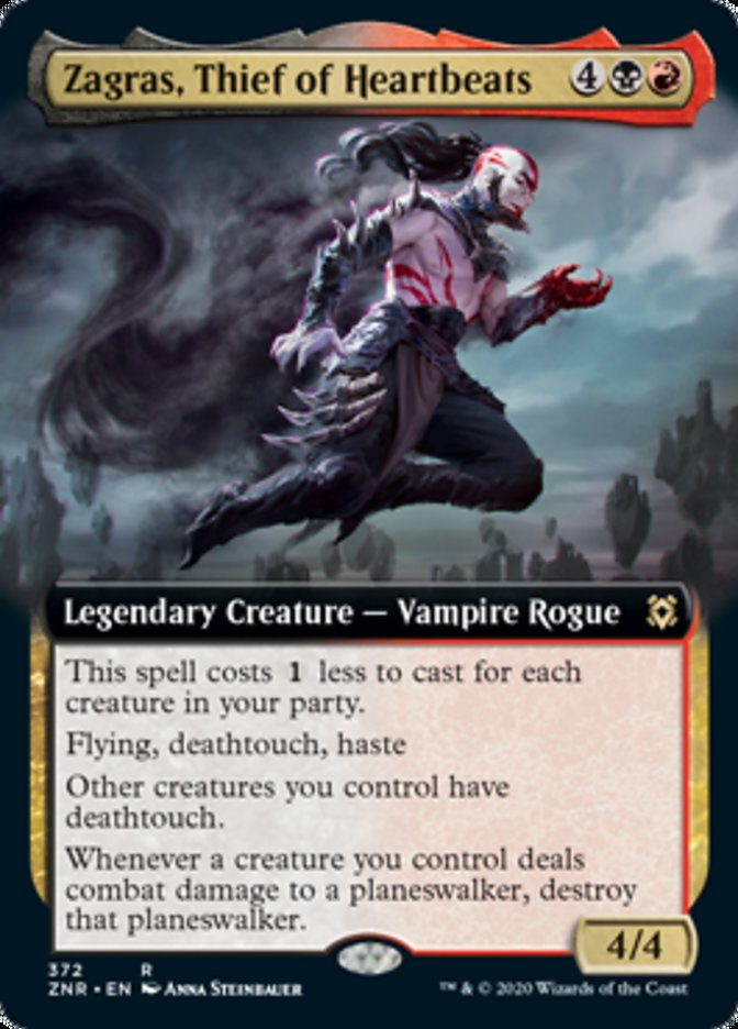 Zagras, Thief of Heartbeats (Extended Art)