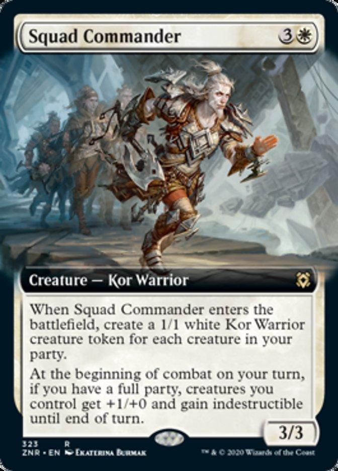 Squad Commander (Extended Art)