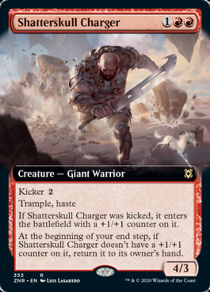 Shatterskull Charger (Extended Art)