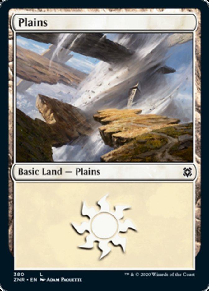 Plains card from Zendikar Rising