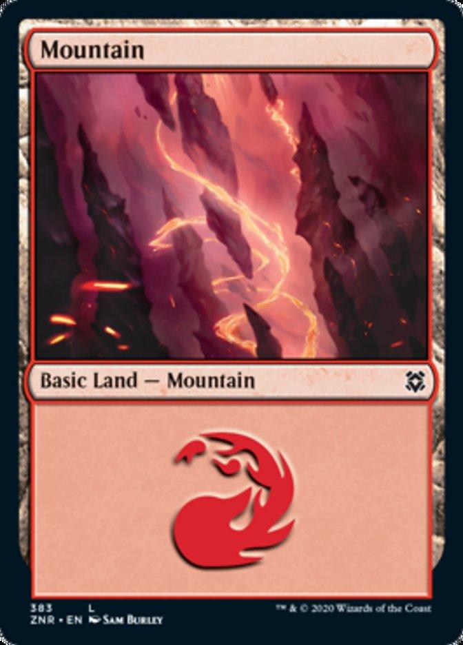 Mountain card from Zendikar Rising