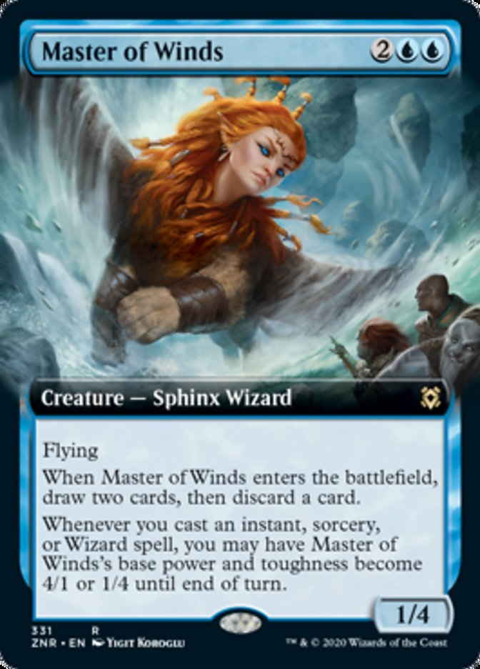 Master of Winds (Extended Art)