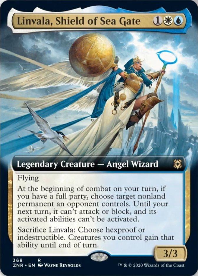 Linvala, Shield of Sea Gate (Extended Art)
