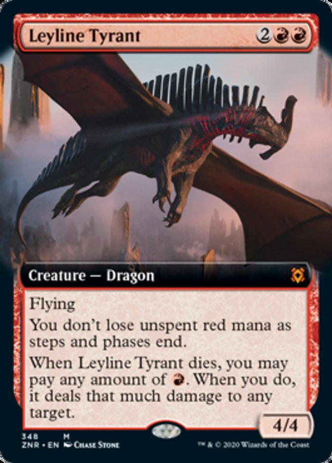 Leyline Tyrant (Extended Art)