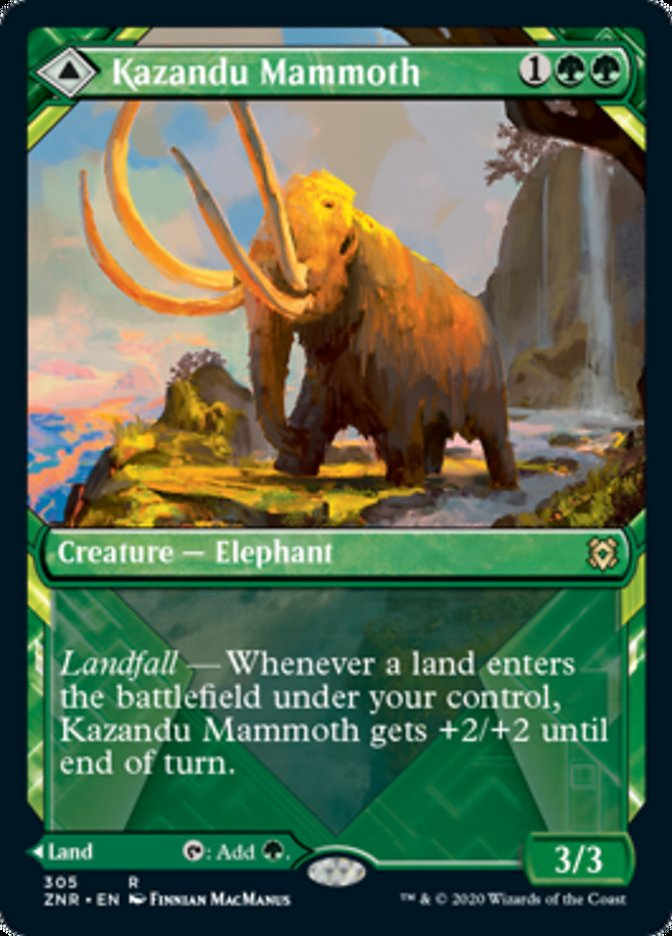 Kazandu Mammoth // Kazandu Valley (Showcase)