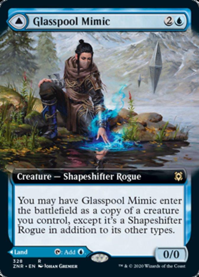 Glasspool Mimic // Glasspool Shore (Extended Art)