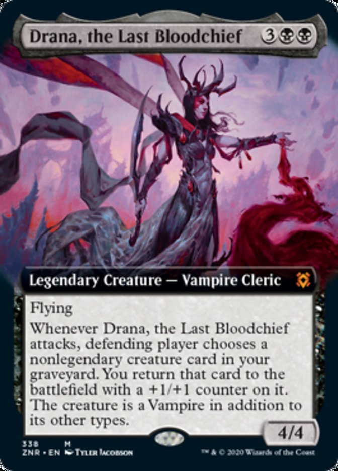 Drana, the Last Bloodchief (Extended Art)