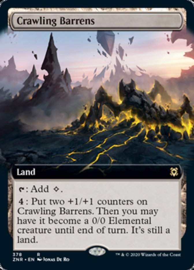Crawling Barrens (Extended Art)