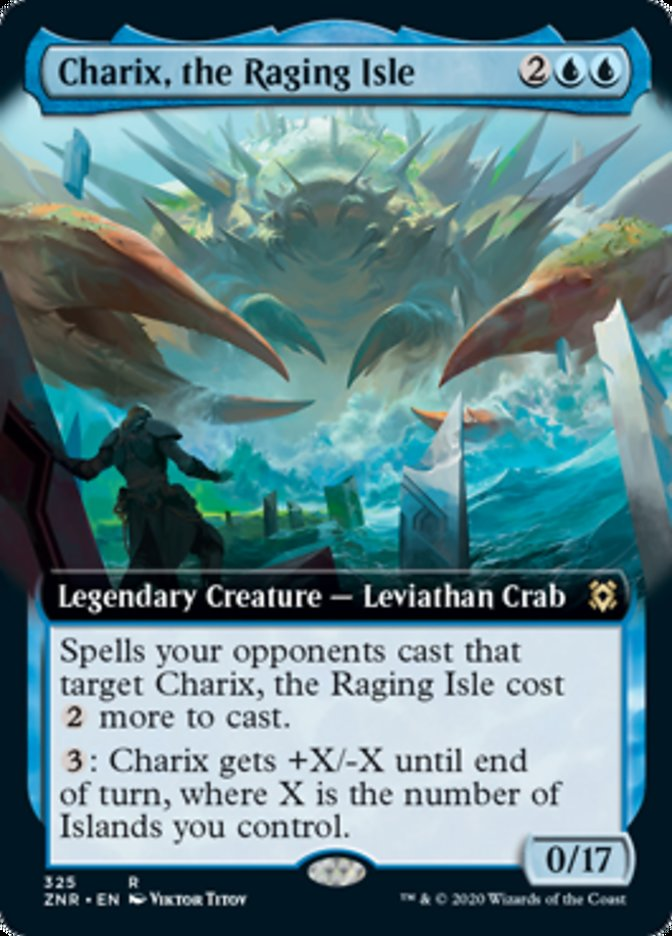 Charix, the Raging Isle (Extended Art)