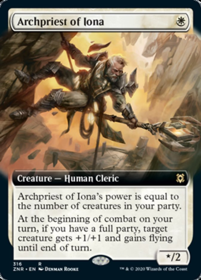 Archpriest of Iona (Extended Art)