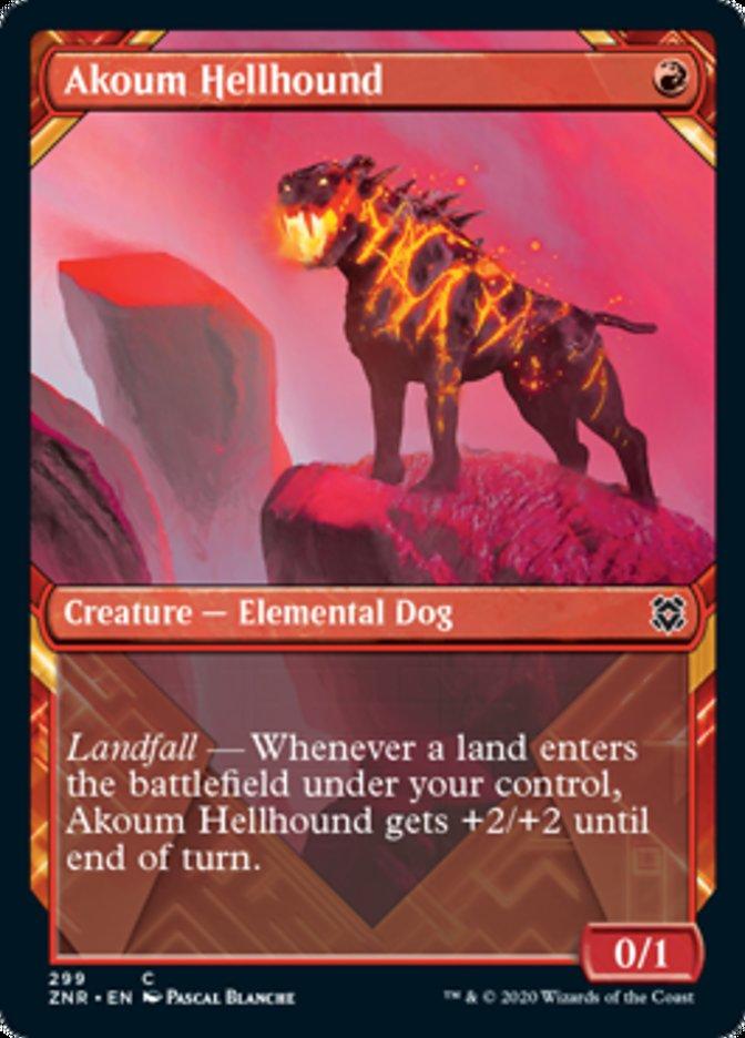 Akoum Hellhound (Showcase)