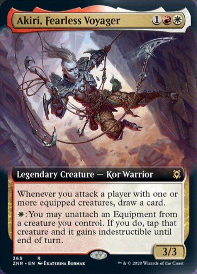 Akiri, Fearless Voyager (Extended Art)