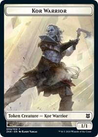 Kor Warrior Token