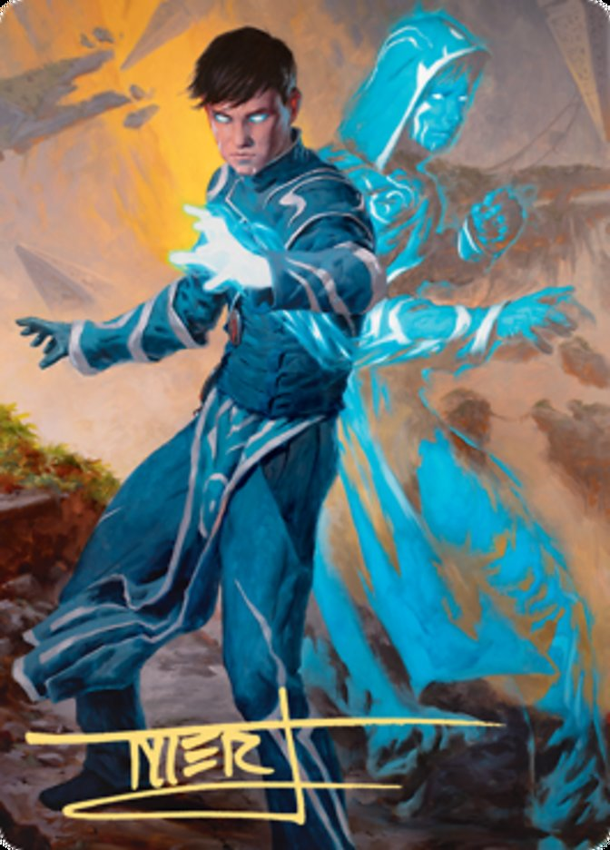 Jace, Mirror Mage Art Card (1/81)