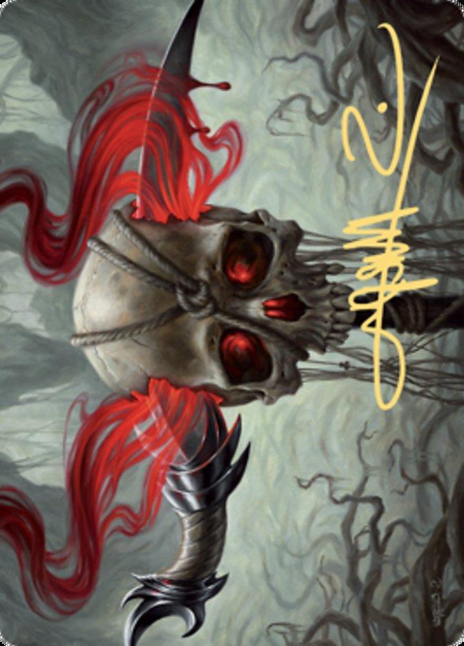 Mind Carver Art Card (Gold-Stamped Signature)