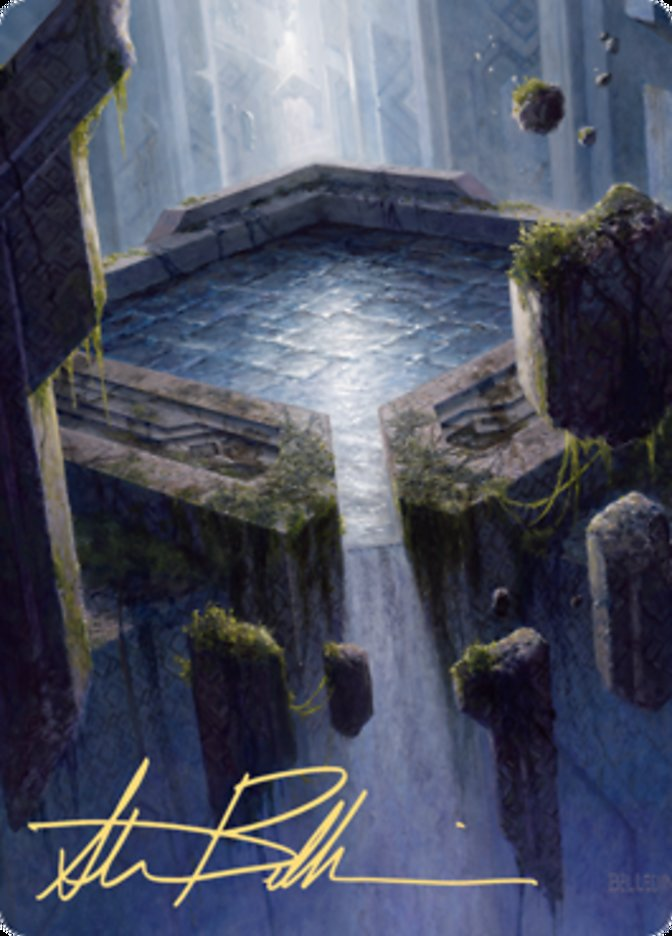 Morphic Pool Art Card (Gold-Stamped Signature)