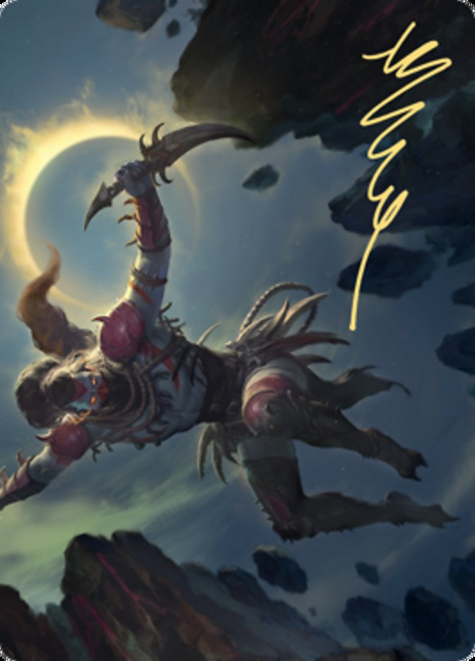 Nighthawk Scavenger Art Card