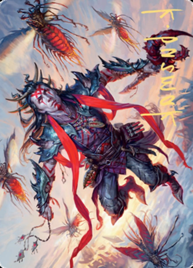 Scion of the Swarm Art Card