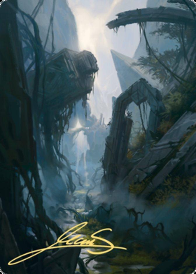 Swamp Art Card (14/81)