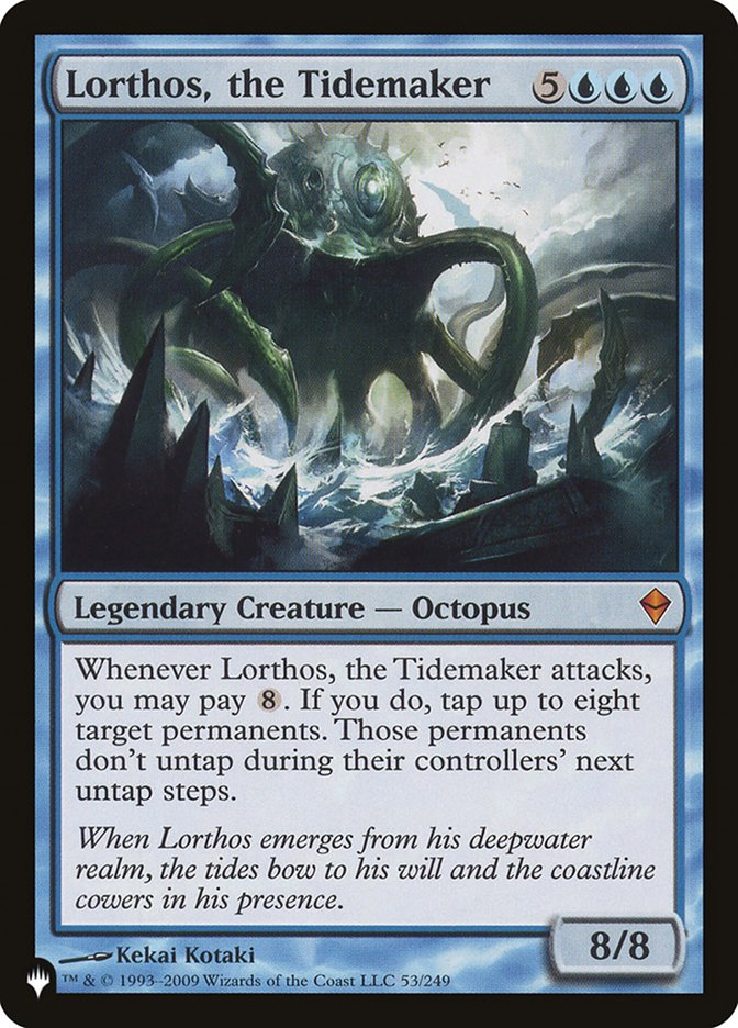 Lorthos, the Tidemaker card from The List