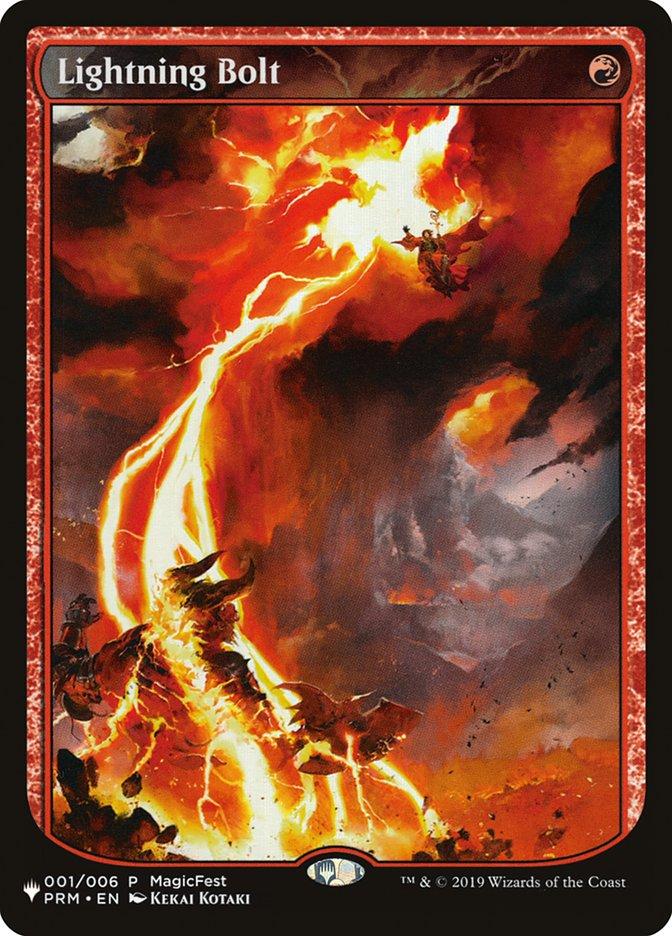 Lightning Bolt (PRM) card from The List