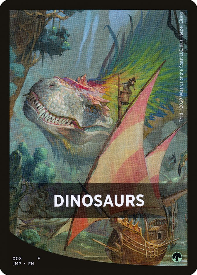 Dinosaurs Theme Card