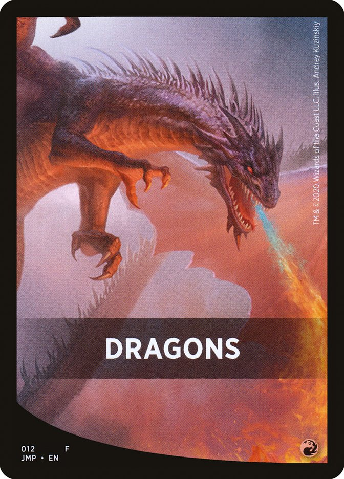 Dragons Theme Card