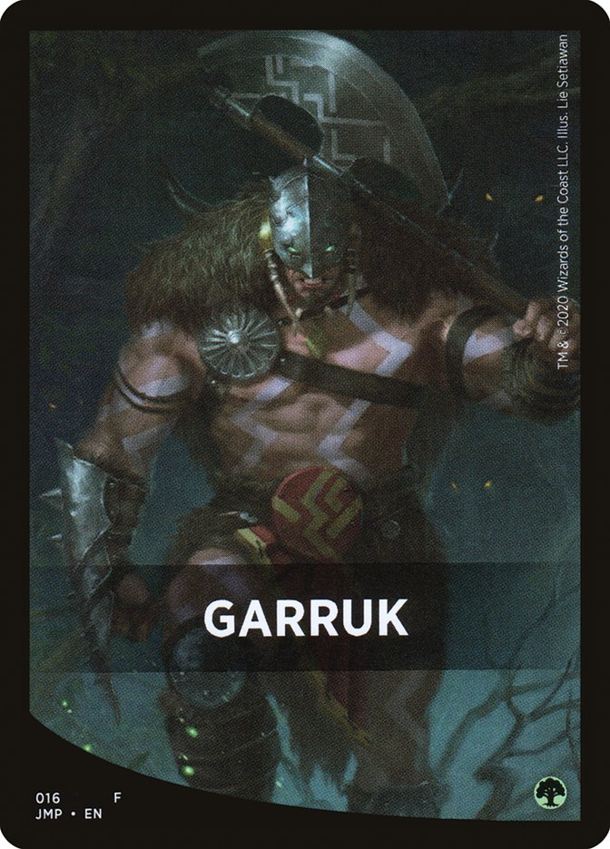 Garruk Theme Card