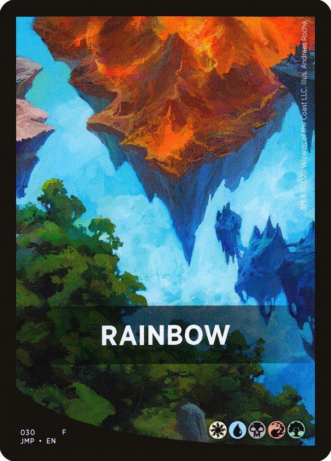 Rainbow Theme Card