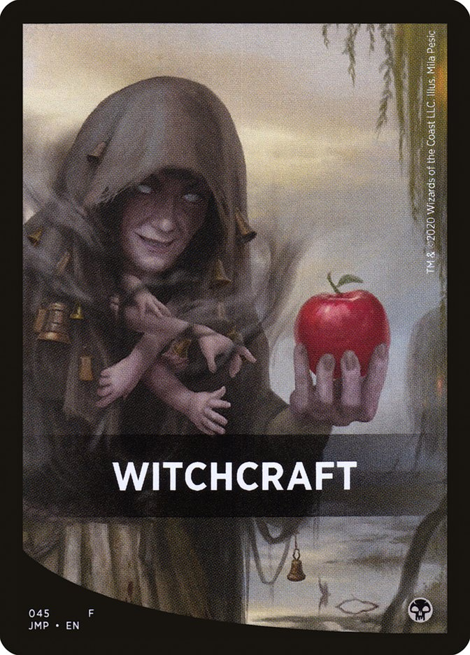 Witchcraft Theme Card