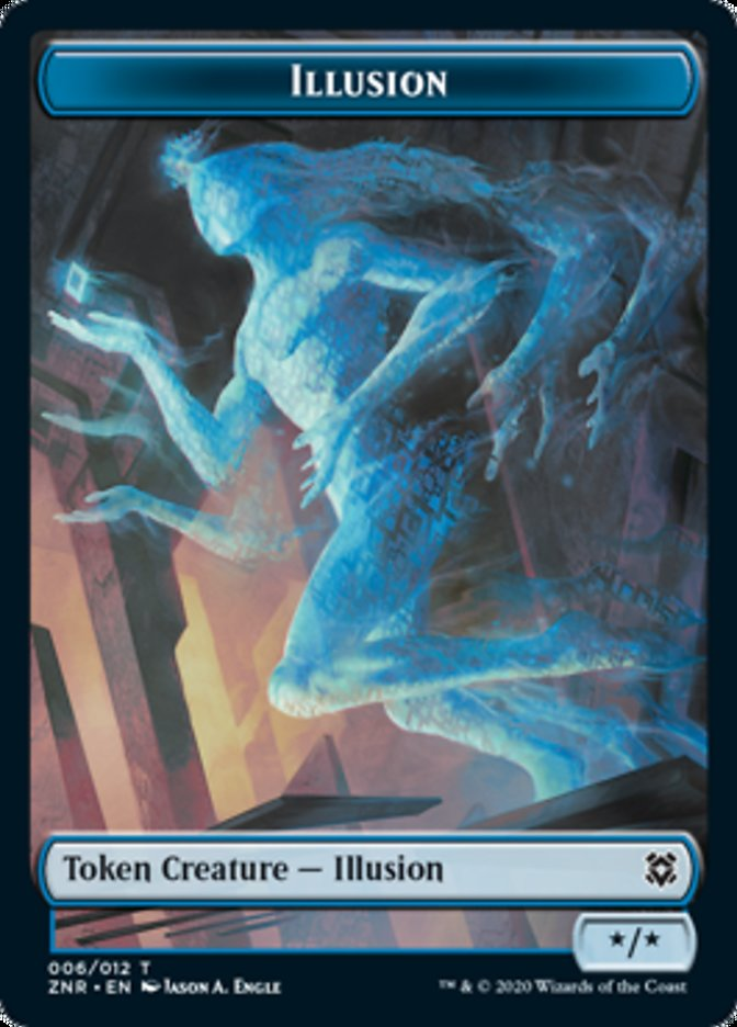 Illusion // Insect Double-sided Token