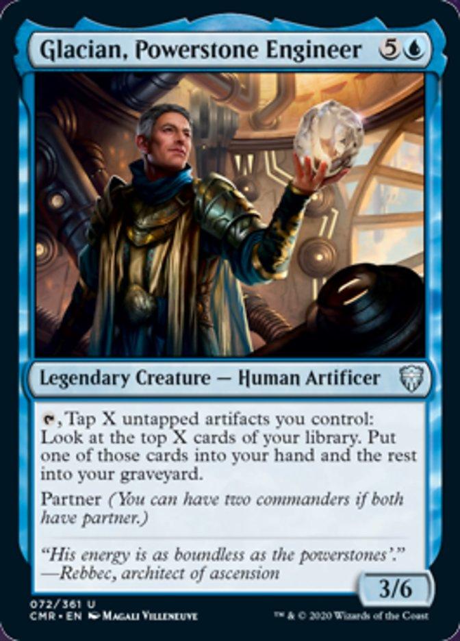 Glacian, Powerstone Engineer