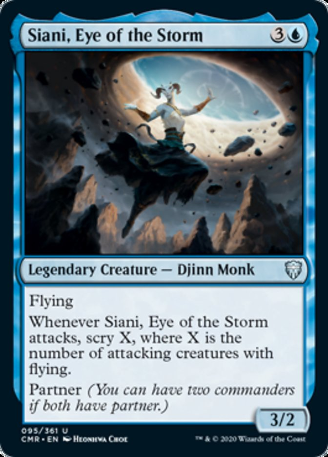 Siani, Eye of the Storm