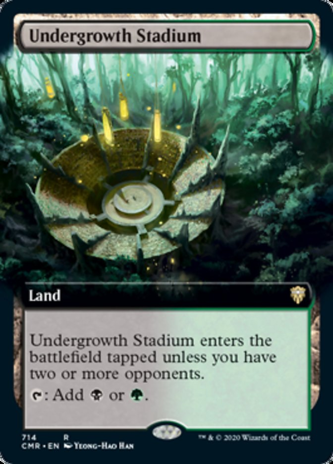 Undergrowth Stadium (Extended Art)