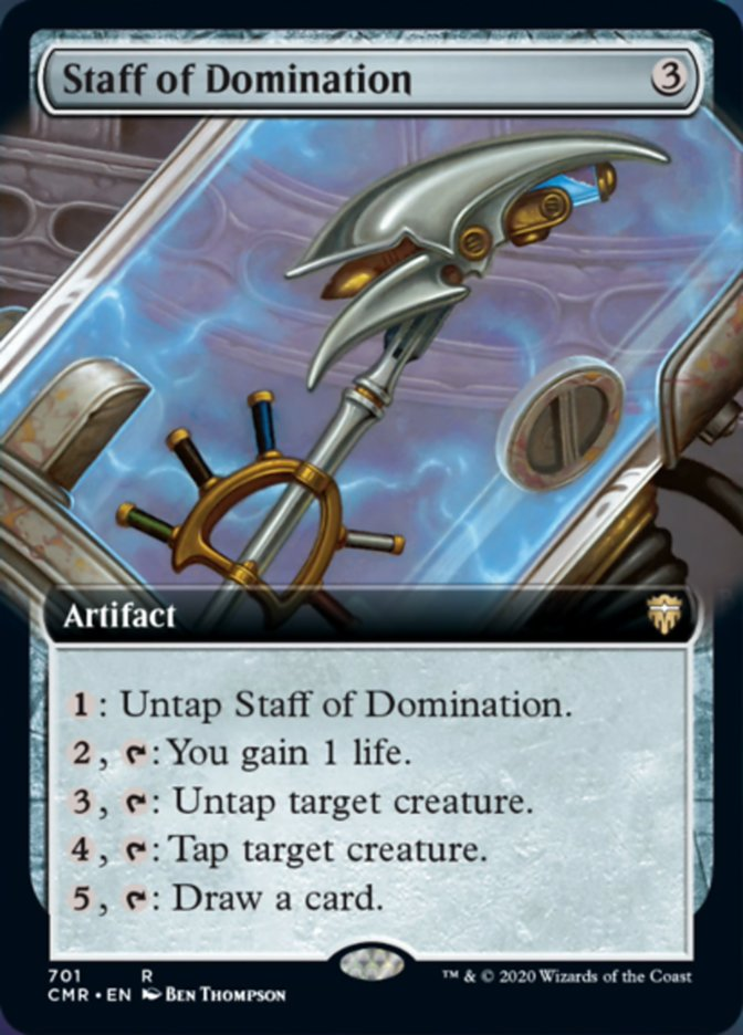Staff of Domination (Extended Art)
