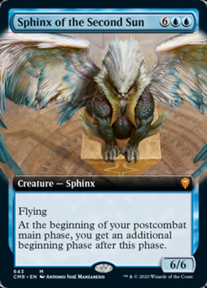 Sphinx of the Second Sun (Extended Art)
