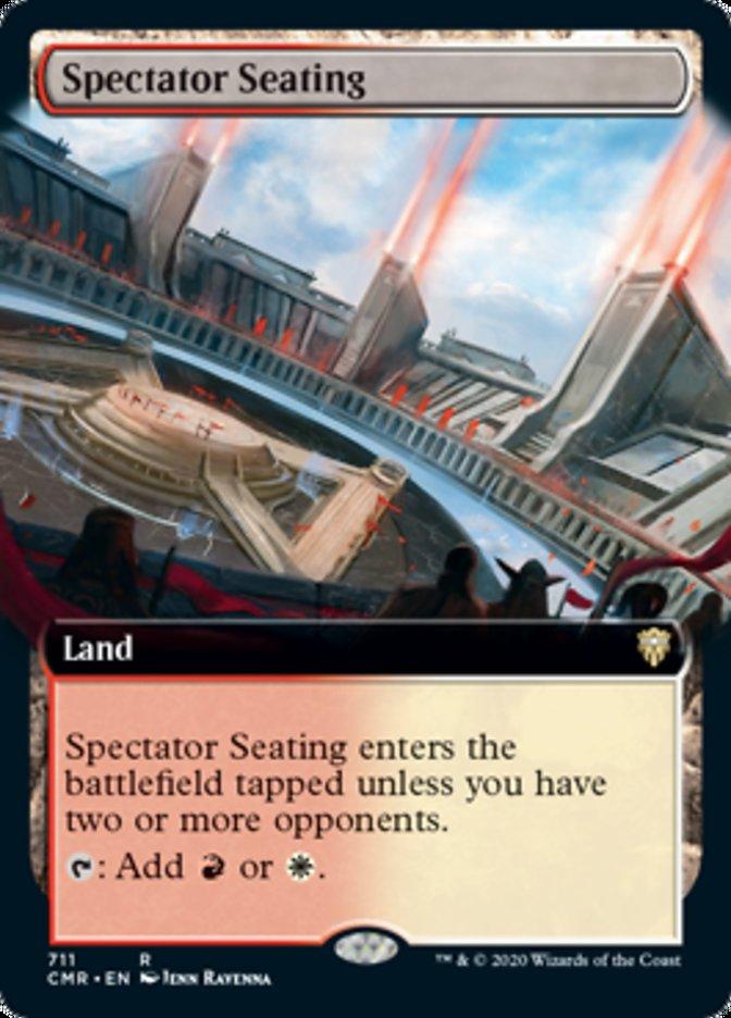 Spectator Seating (Extended Art)