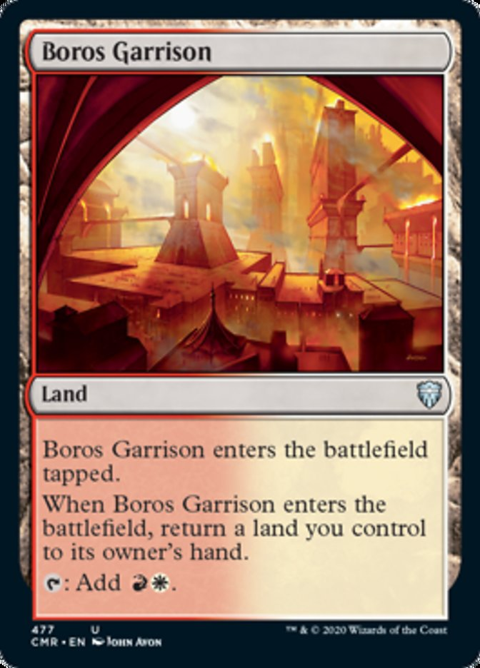 Boros Garrison card from Commander Legends