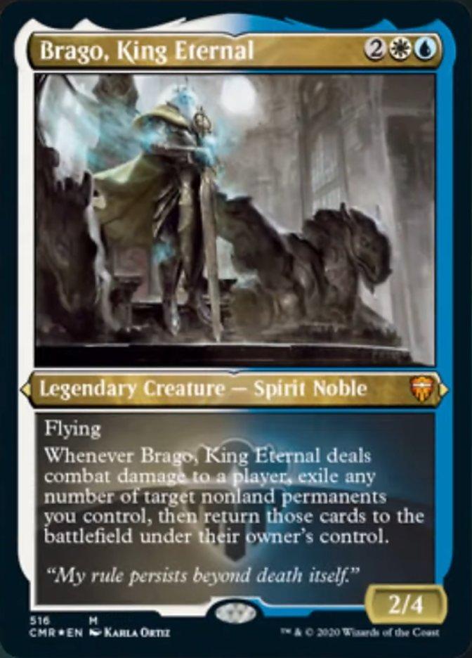 Brago, King Eternal (Foil Etched)