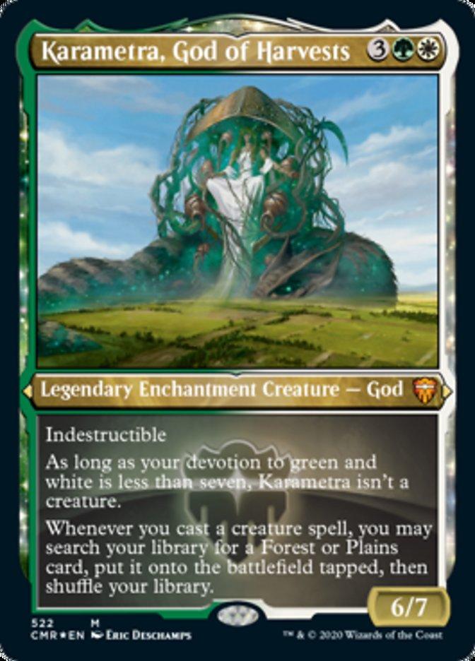 Karametra, God of Harvests (Foil Etched)