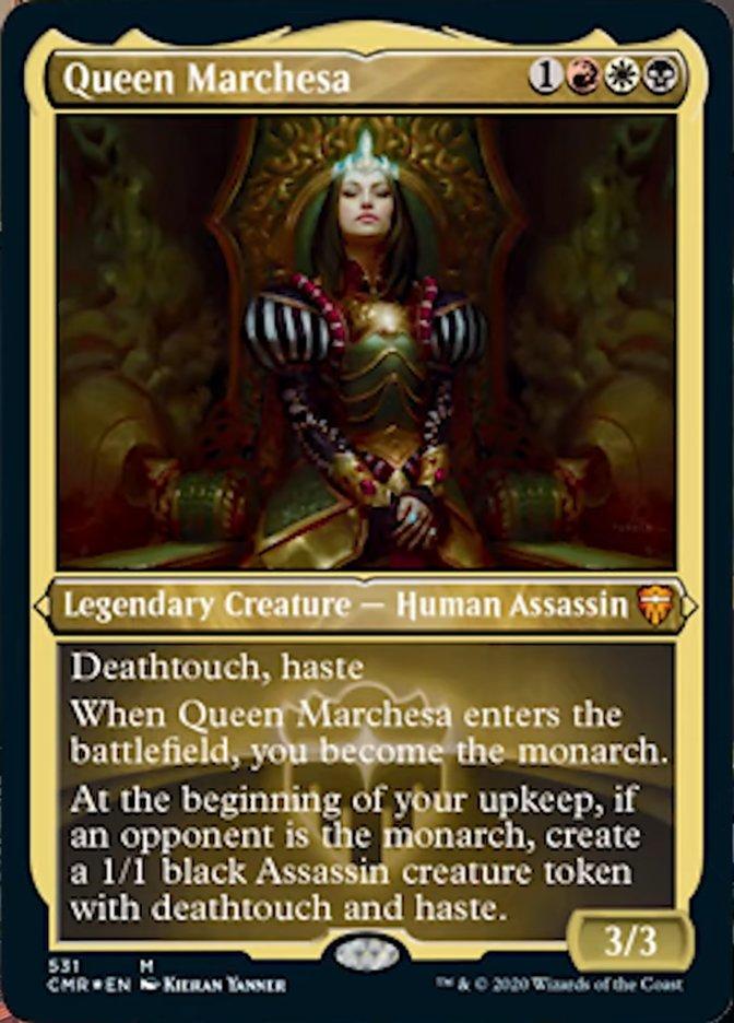 Queen Marchesa (Foil Etched)