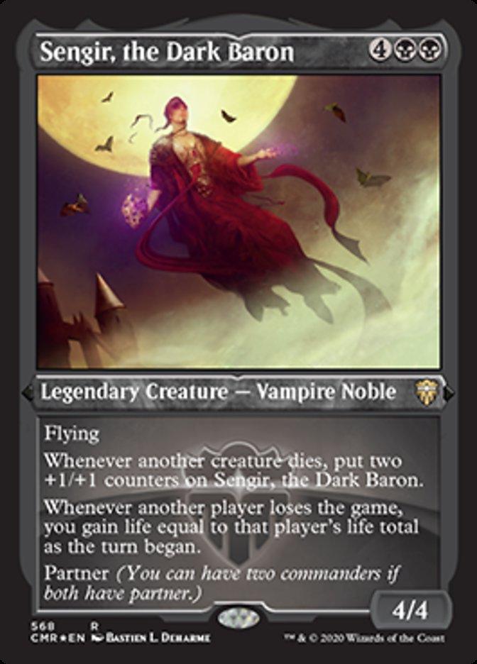 Sengir, the Dark Baron (Foil Etched)