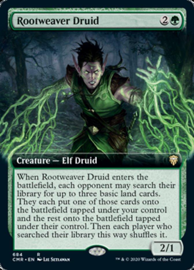 Rootweaver Druid (Extended Art)