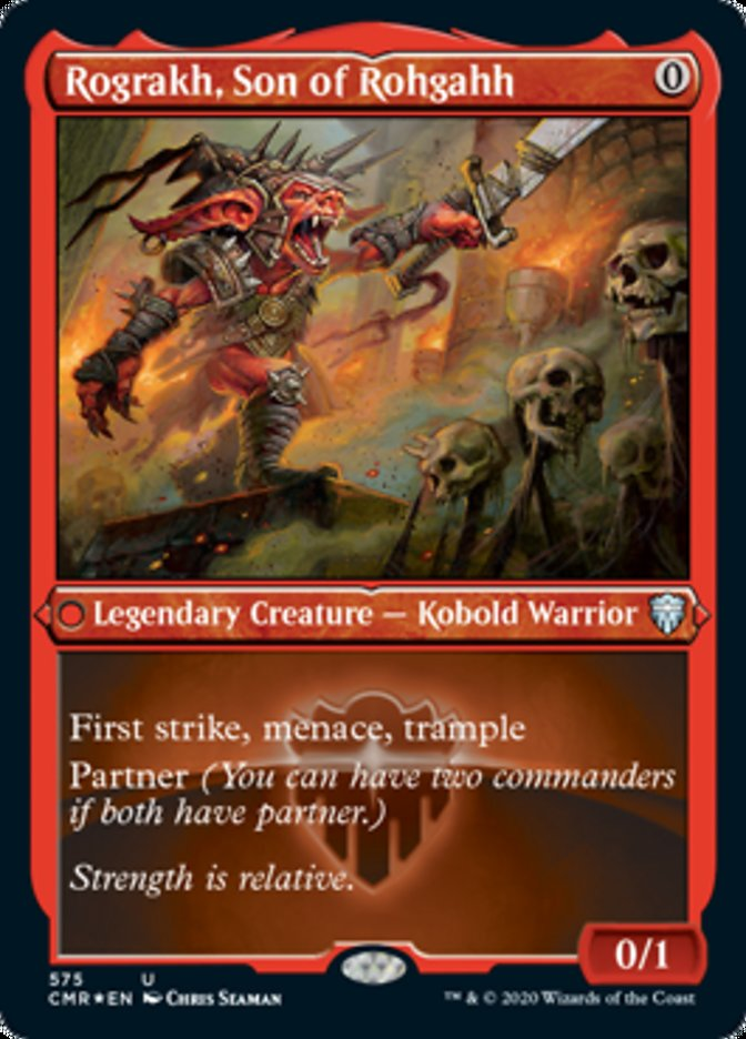 Rograkh, Son of Rohgahh (Foil Etched)