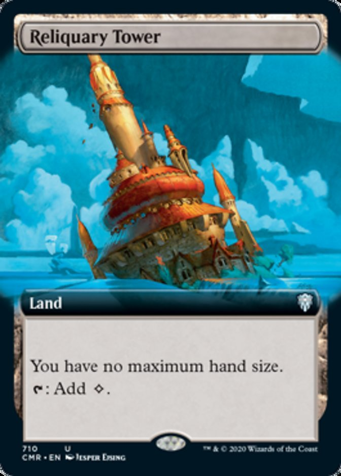 Reliquary Tower (Extended Art)