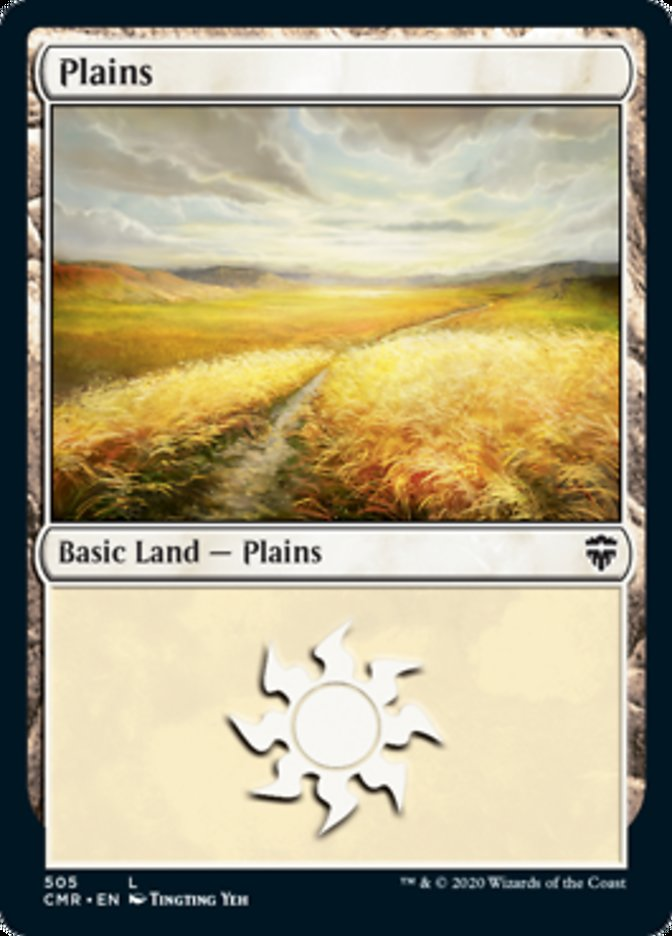 Plains (505) card from Commander Legends